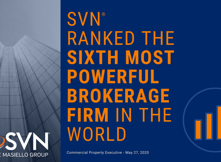 SVN Ranked the Sixth Most Powerful Brokerage Firm!