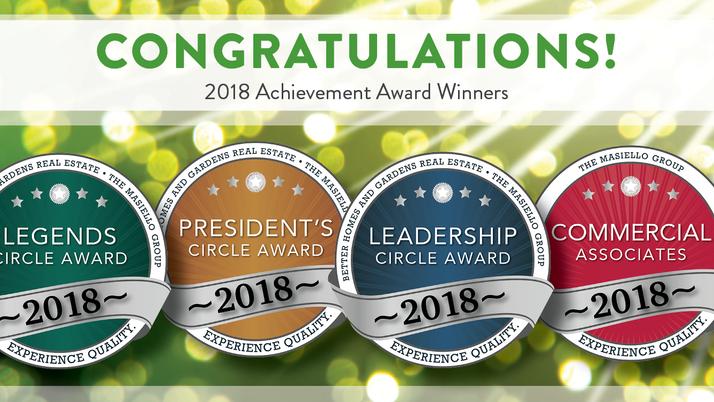 2018 ACHIEVEMENT AWARD WINNERS