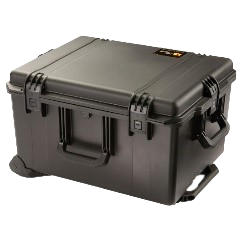 Flight case for blueSeis-3A