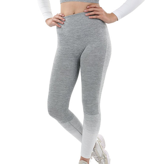 Booji Bocana Seamless Leggings in Grey & White