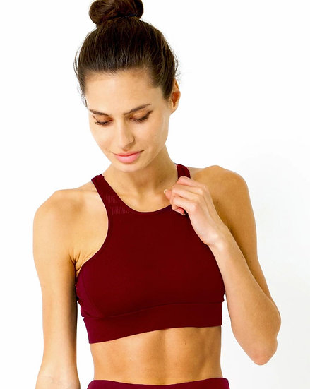 Booji Ashton Sports Bra in Maroon