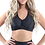 Thumbnail: Booji Genova Activewear Sports Bra in Black - Made in Italy - Size Small