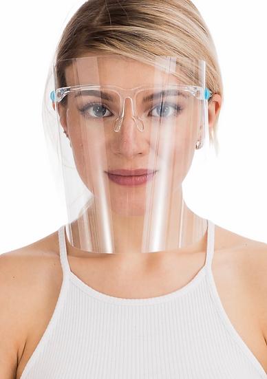 Anti-Fog Anti-Splatter Full Face Shield - 2 Pack