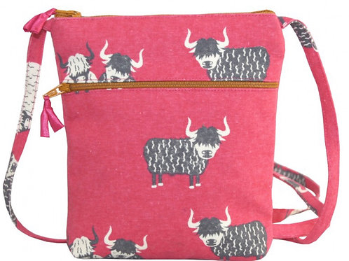 Pink Cow Bag