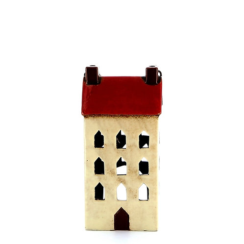 Small House Lantern (Red)