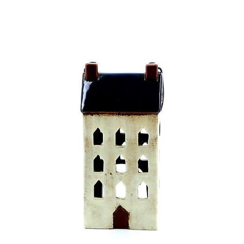 Small House Lantern (Navy Blue)