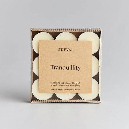Tranquillity Tealights (Set of 9)