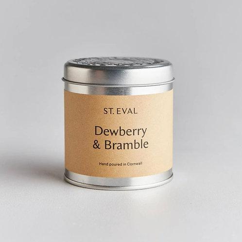 Dewberry & Bramble Tin Candle