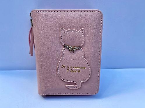 Cat Purse (Light Pink)