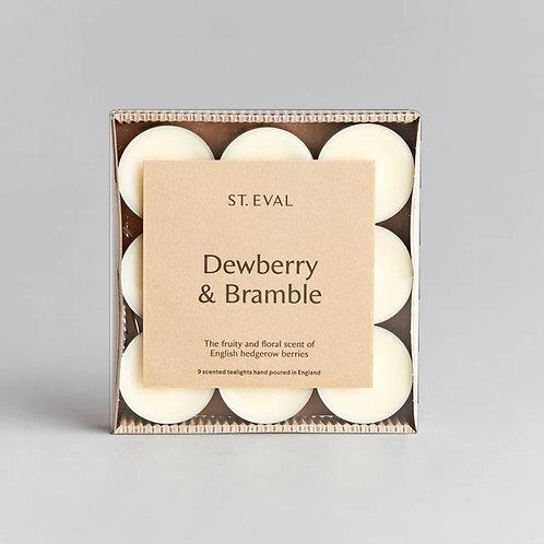 Dewberry & Bramble Tealights (Set of 9)