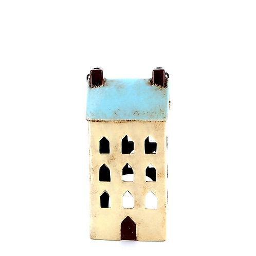 Small House Lantern (Aqua)