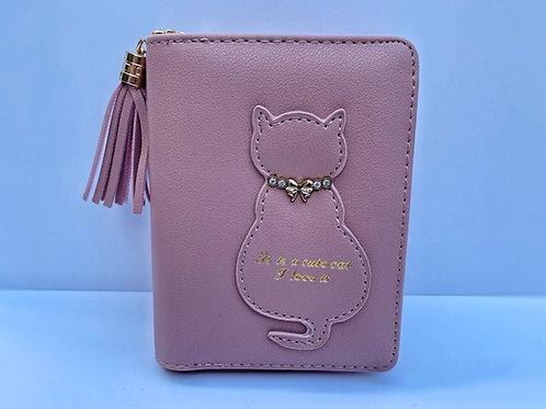 Cat Purse (Dark Pink)