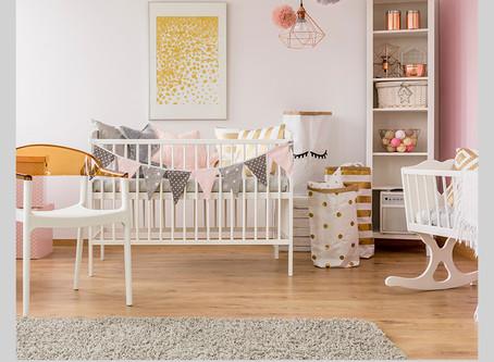 Montando o quartinho de bebê como uma decoradora!