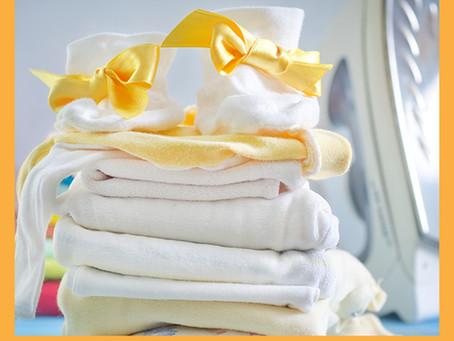 Cuidados com as roupas do bebê