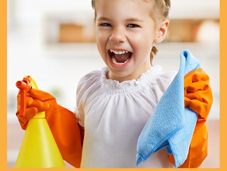 Inserindo as crianças nas atividades de casa