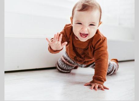 Aprendendo a estimular o bebê - de 7 a 9 meses