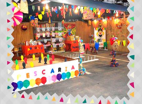 Festa junina em casa - Brincadeiras