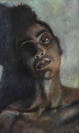 Austin Miles - Self Portrait -11in x 17i