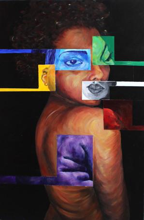 Austin Miles - Colored Girl - 24in x36in