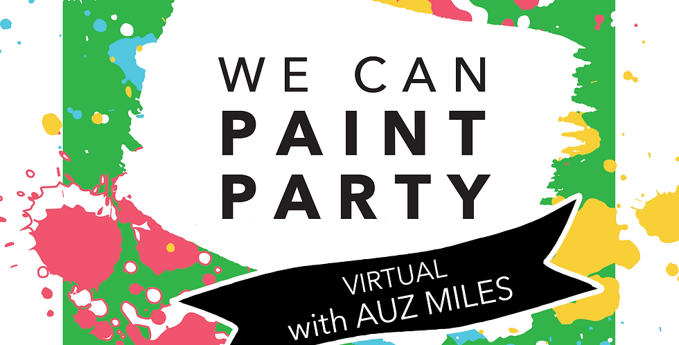 WE CAN PAINT Party