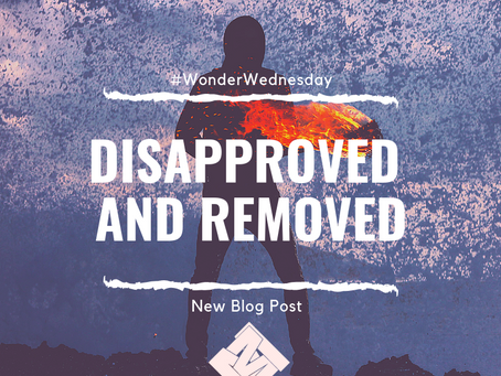 Disapproved and Removed