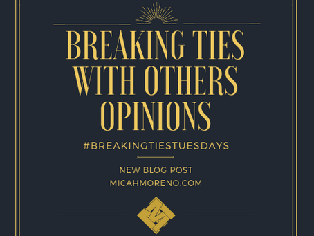Breaking Ties with Others Opinions