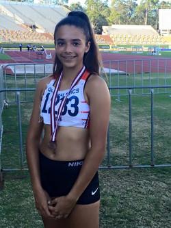 Halle S bronze Aus Jnr 200m (1)