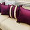 Thumbnail: Set of 5 pieces, including 4cushion covers &1  Table Runner