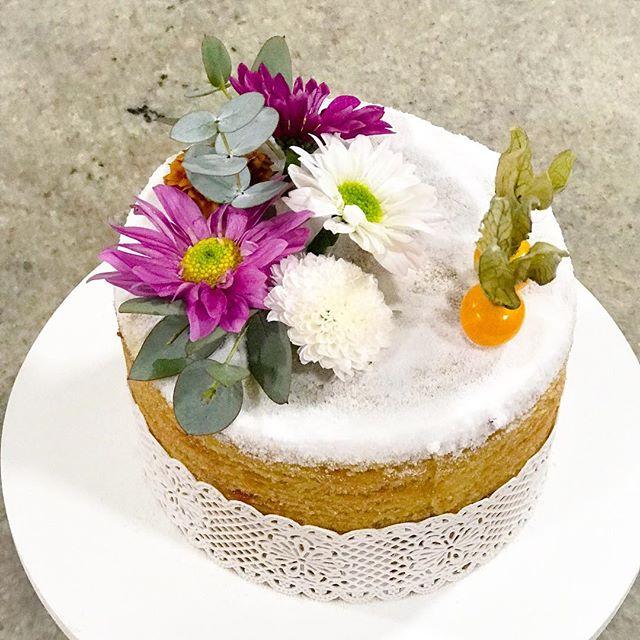 Naked Cake de Bolo de Rolo, recheado de