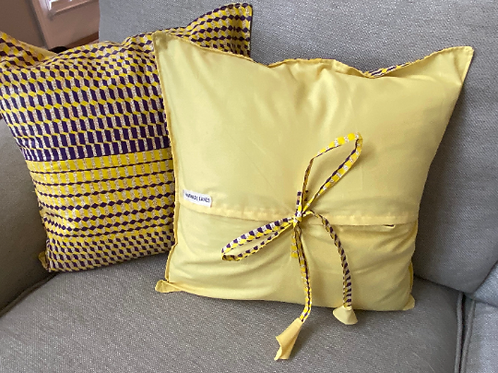 Set of 2 African printed pillow case for contemporary living