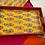 Thumbnail: Textile wooden decorative tray