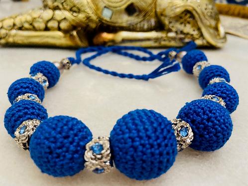 Elegant Handcrafted crochet Boho necklace