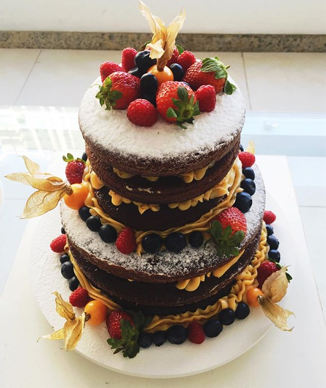 Naked Cake Chocolate Gourmet