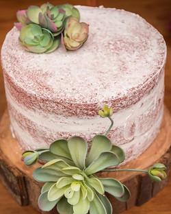 Semi Naked Cake Red Velvet