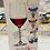 Thumbnail: Beautiful Wine Glass Charms Set of 6
