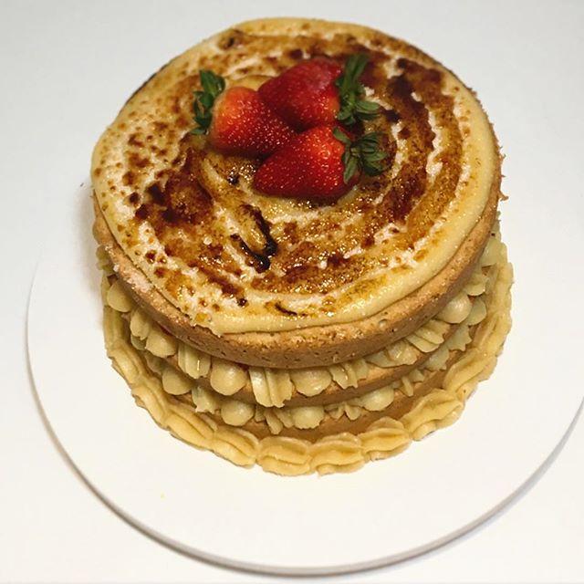 Naked Cake Crème Brûlèe