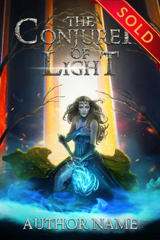 The COnjurer of Light - SOLD
