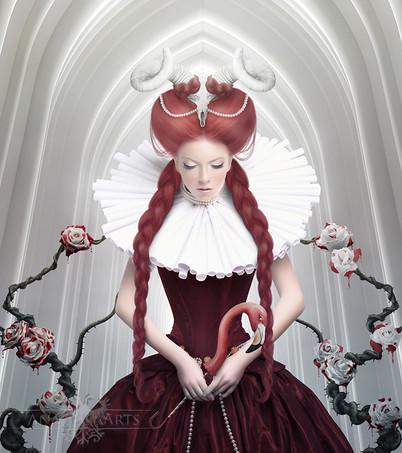 Queen of a Dead Red Heart