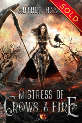 Mistress of Crows & Fire Premade  - SOLD
