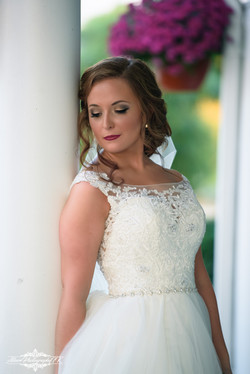 Beautiful Bride morning