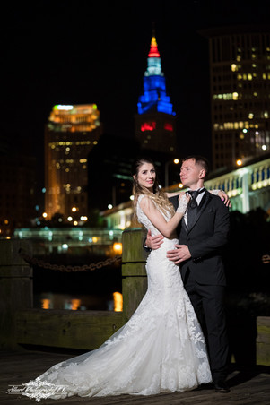 Cleveland Downtown Wedding