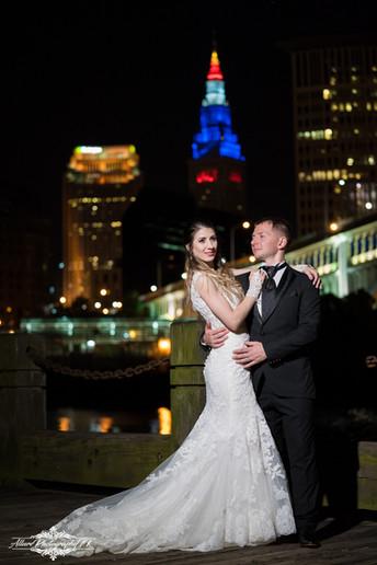 Cleveland Downtown Wedding