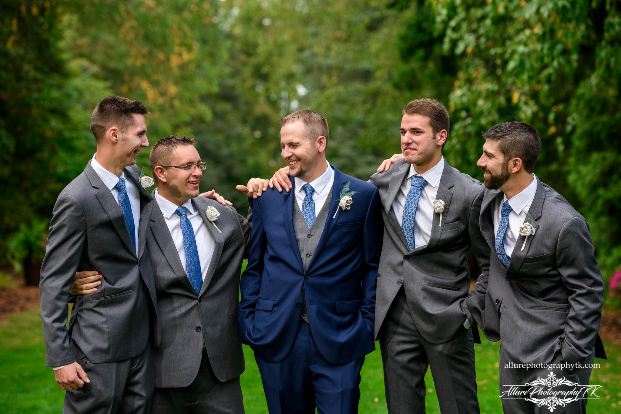 Groomsmen at Cleveland