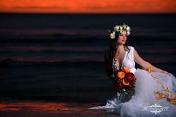 Lake Erie Bride in water