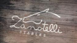 Painted Wood Logo Mock-Up