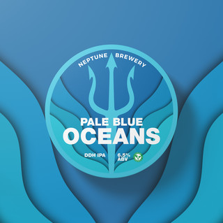 Pale Blue Ocean