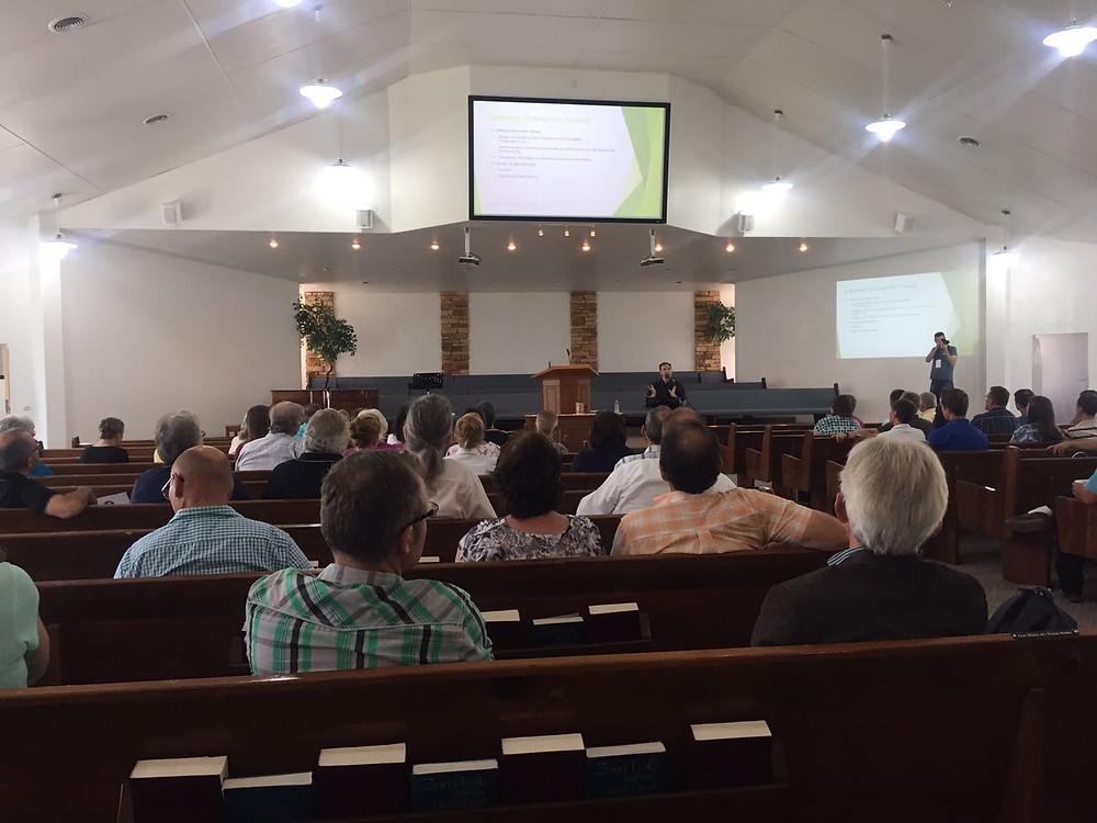 La PMK se llevó a cabo en la Iglesia del Km 11