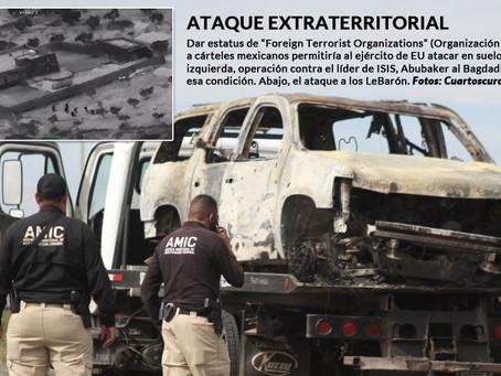 """Congresistas de EU piden estatus de """"terroristas"""" a cárteles para combatirlos en suelo mexicano"""