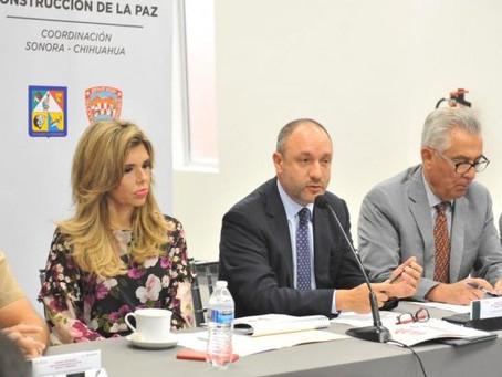 Acuerdan Sonora, Chihuahua y Gobierno Federal coordinación efectiva de sus policías