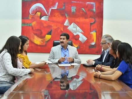 Recibe Gobernador a normalistas y establece mecanismo de diálogo